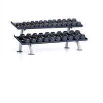 PPF-752T TUFF STUFF 2-Tier Tray Dumbbell Rack, 12 pair