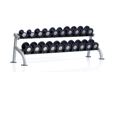 PPF-752 TUFF STUFF 2-Tier Saddle Dumbbell Rack, 10 pair