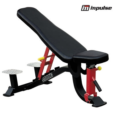 IMPULSE FITNESS FID Bench + sparing platform SL7012
